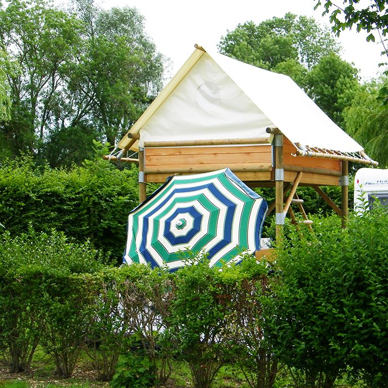 Hébergement au camping